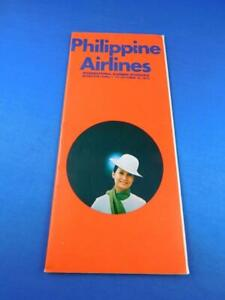 PHILIPPINE-AIRLINES-INTERNATIONAL-SUMMER-SCHEDULE-TIMETABLE-APRIL-OCTOBER-1972
