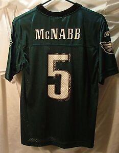 938a6bbf06d Image is loading Donovan-McNabb-Philadelphia-Eagles-Reebok-Green-Youth-Size-