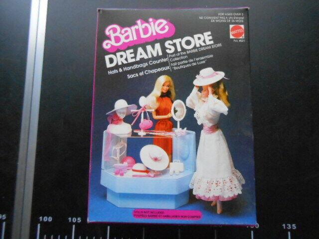 ♥  VINTAGE Barbie Dream Store Cappelli & Borse Mattel 4021 ♥
