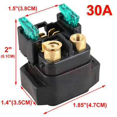 Starter Solenoid Relay Switch For Yamaha YFM 350//400//450 Grizzly Kodiak Raptor