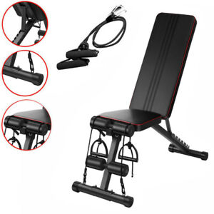 Adjustable Heavy Duty Folding Weight Bench Home Gym Lifting Dumbbell Abs Chest