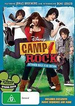 Camp Rock NEW DVD (Region 4 Australia)