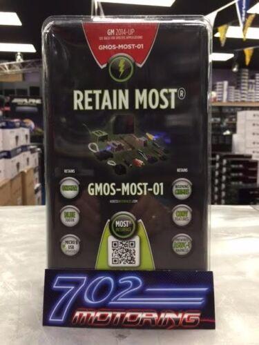 Metra gmos-most-01 Gm Gmc Chevy Cadillac Camiones Camionetas 2014-up más Amp interfaz