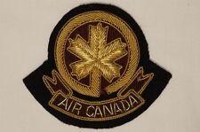Air Canada Airliner Cap Badge Bullion