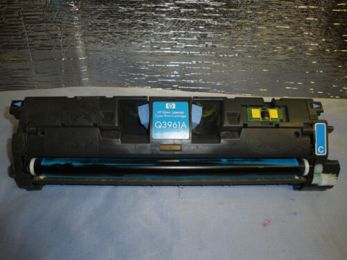 Used HP Genuine Q3961A Cyan Toner  2550 2820 2840 46/% remaining