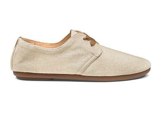 256fecaee0e Olukai Pakele Elua Women s Beige Oxford Casual Shoes Size 7 for sale online