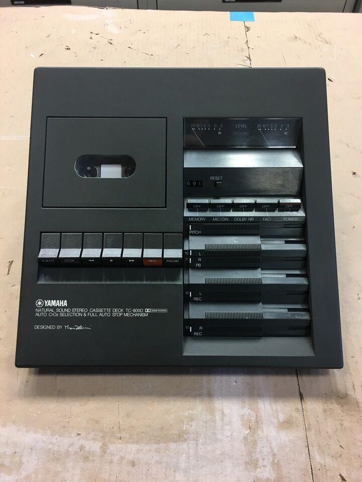 Båndoptager, Yamaha, TC-800D