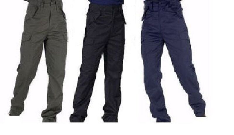 COMBAT ARMY CARGO WORK OR CASUAL TROUSERS REGULAR LEG  42 - 60  Waist  NEW TOUGH