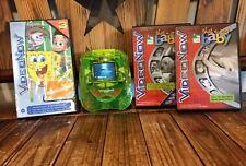 Hasbro VideoNow Handheld Personal Player w 7 Discs in Cases Spongebob Tested EUC
