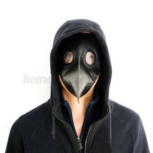 Steampunk-Plague-Doctor-Mask-Bird-Beak-Halloween-Prop-Cosplay-Punk-Gothic-Masks
