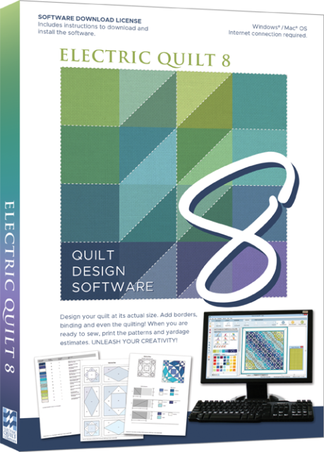 Eq7 Electric Quilt 7 Design Software For Pc For Sale Online Ebay
