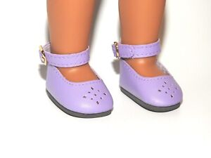 Shoes Purple for 14 in Wellie Wishers Doll American Girl Accessories Clothes