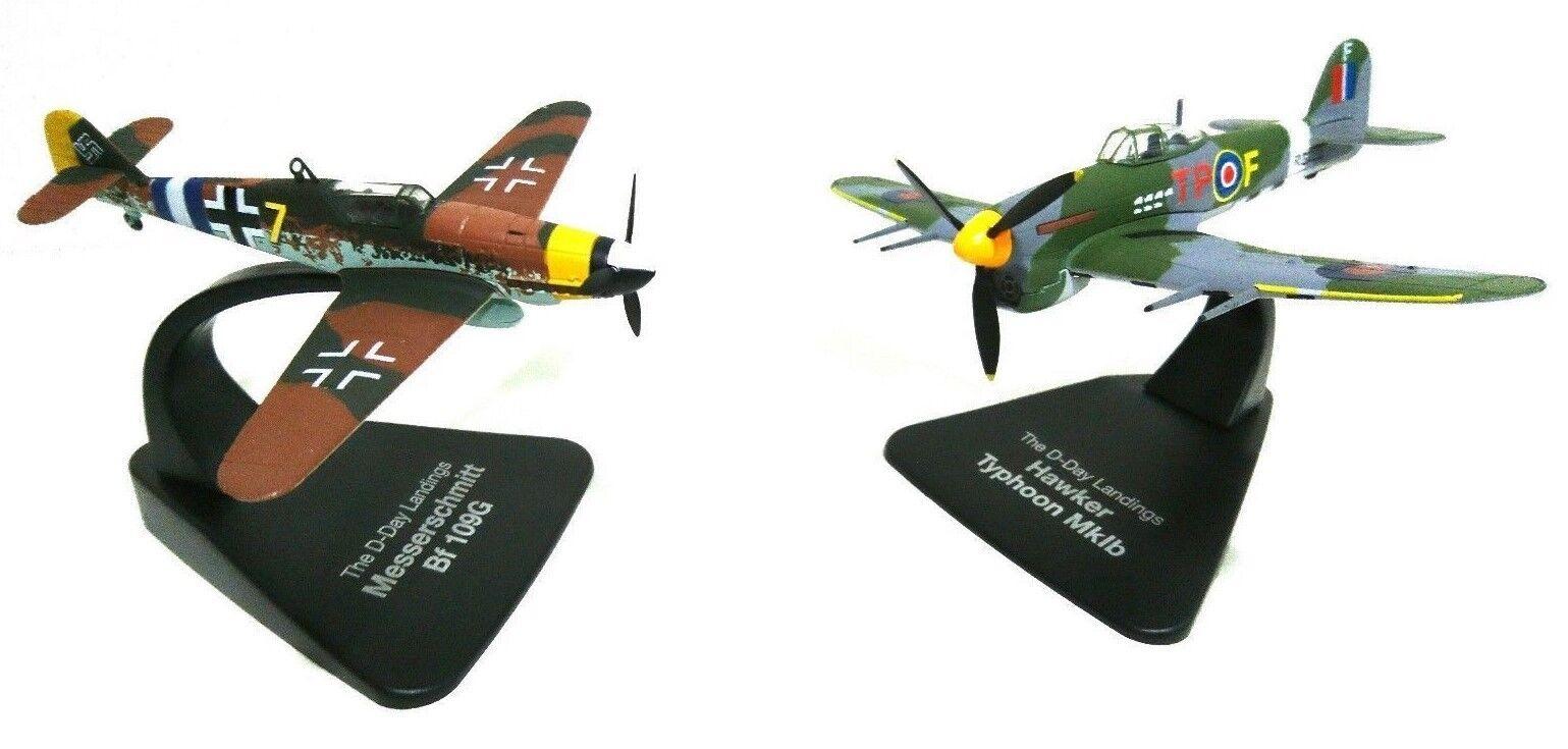 Atlas   Oxford 1 72 Combattimento Guerrieri Messerschmitt Bf109g & Hawker