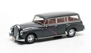 Mercedes Mb W186 300c Combi Gris Binz 1956 Matrix 1/43