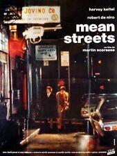 Affiche 120x160cm MEAN STREETS 1973 Scorsese, De Niro, Harvey Keitel R90 NEUVE #