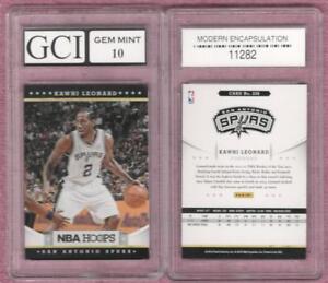 KAWHI-LEONARD-2012-13-Hoops-Graded-Gem-Mint-10-Rookie-Card-Toronto-Raptors-Spurs