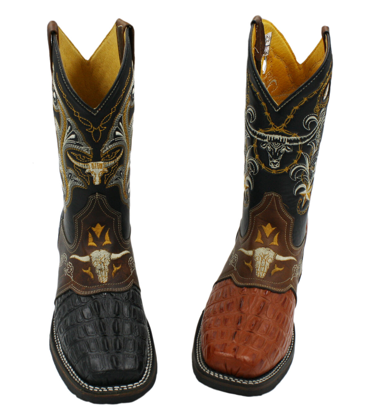 Men Cowboy Western Rodeo Square Toe Boots Special Price Style CP-212
