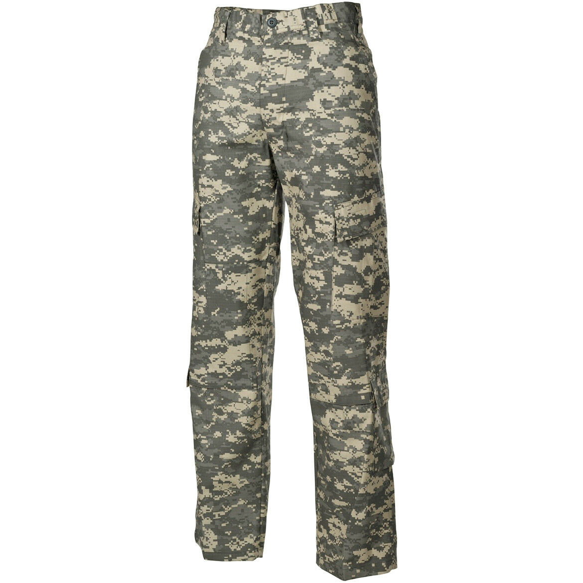 MFH ACU Trousers Tactical Cargos Combat Military Ripstop Mens Pants AT Digital