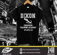 Daryl Dixon Crossbow Training  Academy T Shirt Tee The Fear Walking Dead Zombies
