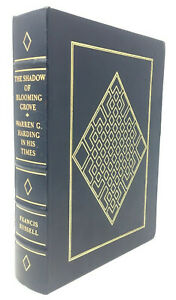 Easton-Press-The-Shadow-of-Blooming-Grove-Warren-G-Harding-Leather