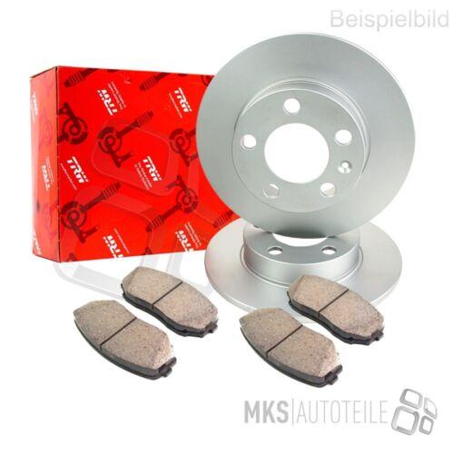Trw discos de freno pastillas de freno trasera ø264 Opel Astra H TwinTop 3900781