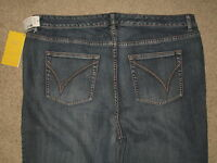 Venezia Size 6 Tall Yellow Square Stretch Bootcut Womens Jeans With Tags
