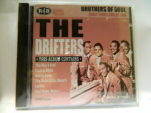 DRIFTERS-BROTHERS-OF-SOUL-EARLY-YEARS-CD-NEU-amp-OVP-REGAL3