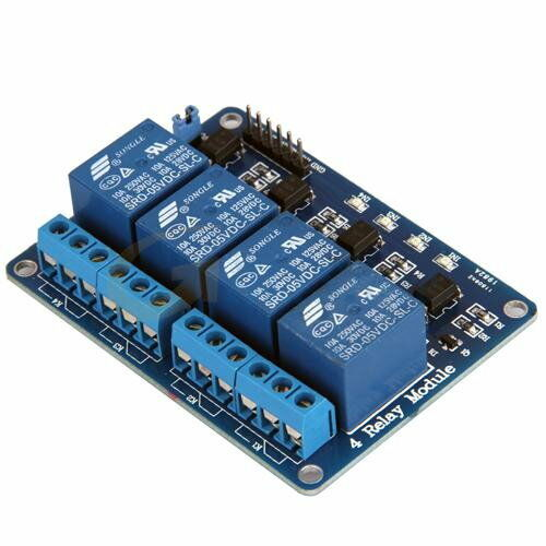 4 Channel 5V Relay module board for Arduino PIC ARM AVR DSP PLC UK SELLER