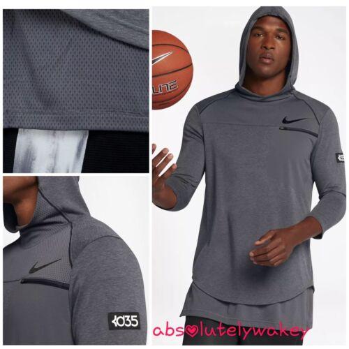 Nike KD Zonal Cooling Men/'s 3//4-Sleeve Basketball Top
