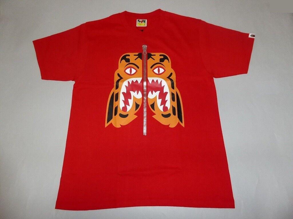 a496baa5 18692 18 W tiger red tee XL A bape osvriw9544-T-Shirts - www ...
