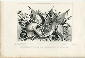 William-Hogarth-The-Receipt-Plate-For-The-March-To-Finchley-Engraving-1833