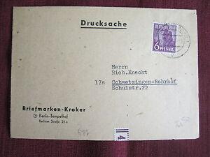 AK-Drucksache-Briefmarken-Kroker-Berlin-nach-Schwetzingen-Rohrdorf-1948-1267