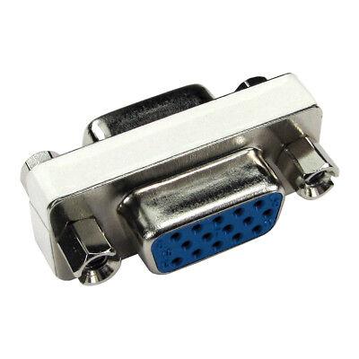 VGA Female to Female Gender Changer HD15 15 Pin Coupler