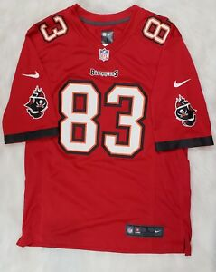 Wholesale Nike On Field NFL Tampa Bay Buccaneers #83 Jackson Red Jersey Mens  for cheap