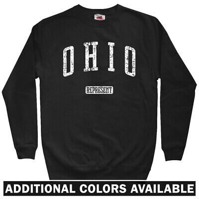 Columbus 614 Sweatshirt Men S to 3XL Ohio State University OSU OH Crewneck