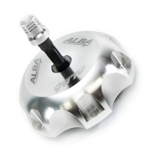KX250F KX450F 06-11  Billet Aluminum Gas Cap  Aba Racing   Silver  404 T6 S