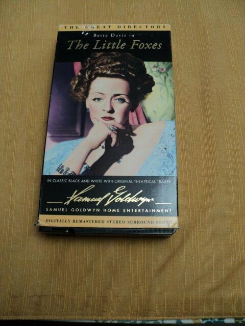 THE LITTLE FOXES vhs Bette Davis