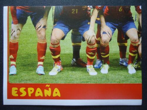 Panini 138 Team Espana Spanien Confed Cup 2013 Brasilien