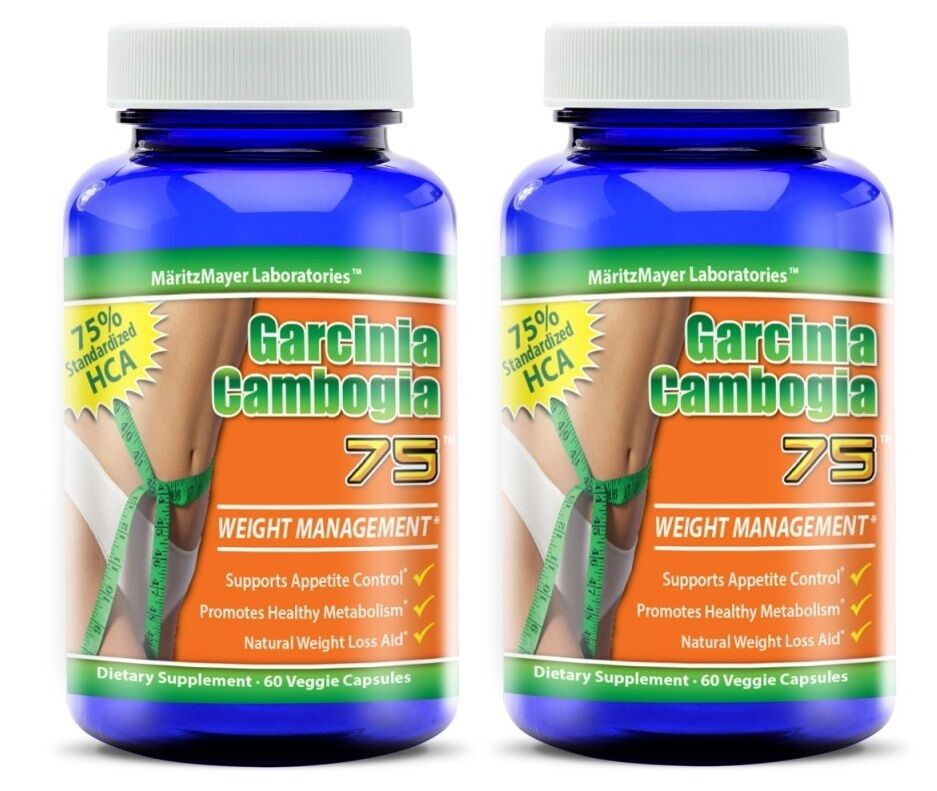 Pure Garcinia Cambogia Extract 60% 75% 75% 60% HCA Natural Diet Weight Loss Fat Burner 7a3304