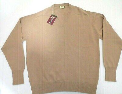 "hand warmers Peter Scott 4 ply Lambswool High Zip Neck Sweater 44/"" 4 Pockets"