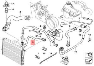 Genuine Engine Thermostat Water Hose BMW X5 E53 X5 4.4i 4.6is SUV  11537500752 | eBayeBay