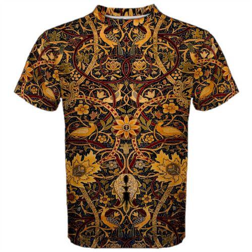 William Morris Bullerswood T-Shirt vintage Arts /& Crafts Tattoo Art
