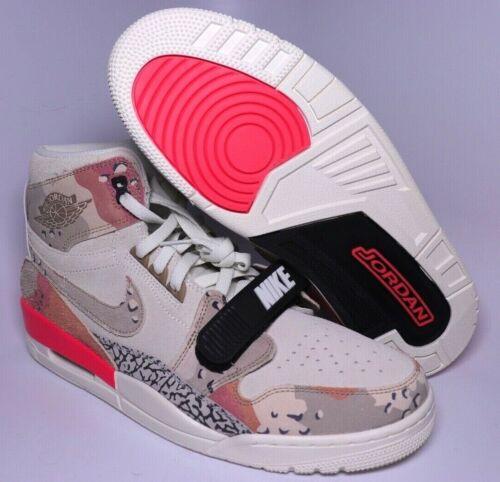 Nike Air Jordan Legacy 312 Mens Desert Camo Shoes Size 8 12AV3922-126