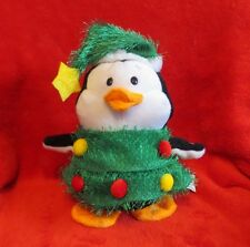 Gemmy Christmas Tree Penguin Animated and Musical