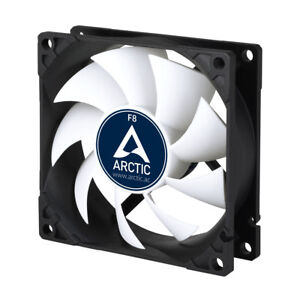 2x-Arctic-f8-80mm-carcasa-ventilador-fan-PC-case-radiador-8cm