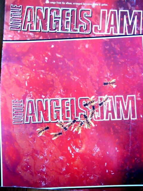 LITTLE ANGELS..JAM..1993 ORIGINAL MUSIC ALBUM..VOICE/PIANO/GUITAR..VERY GOOD