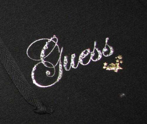 Veste Cristal Logo Noir Capuche Size shirt Film Neuf large Guess Sweat 40UUxO
