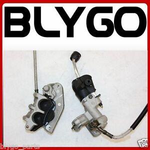 Hydraulic-Front-Disc-Brake-Caliper-System-Pads-250cc-PIT-Trail-Dirt-Motor-Bike