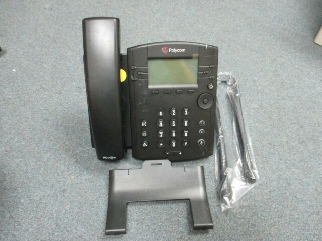 Polycom 2201-46161-001 VVX 310 VOIP IP NON Color Display Telephone W/ Stand - #Y