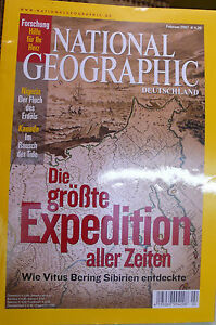 National Geographic Febr. 2007 - <span itemprop=availableAtOrFrom>Quickborn, Deutschland</span> - National Geographic Febr. 2007 - Quickborn, Deutschland